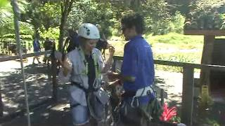 Kid Canopy Tour Rocks