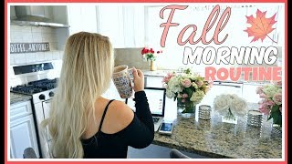 FALL MORNING ROUTINE | KELLY STRACK