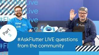 Flutter Performance, Flutter Games, Flutter Tooling, & More (#AskFlutter at Flutter Live)
