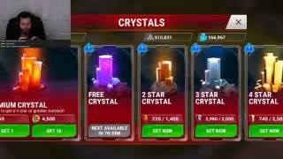 Transformers earth wars: live streaming opening 80 crystals praying for 4 stars