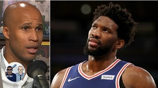 The Nets should retaliate against Joel Embiid - Richard Jefferson | Jalen & Jacoby
