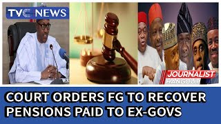 Court orders Federal Government to recover pensions collected by Akpabio, Saraki and others,