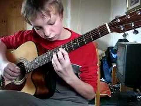 Self Portrait on Acoustic Guitar - Doyle Dykes