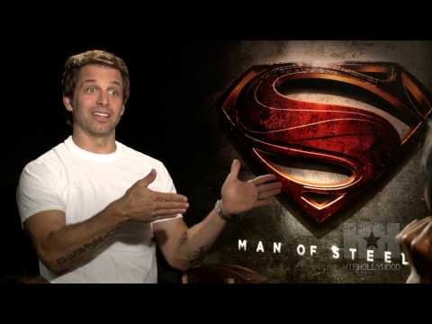 Inside 'Man Of Steel' With Zack Snyder - HipHollywood.com