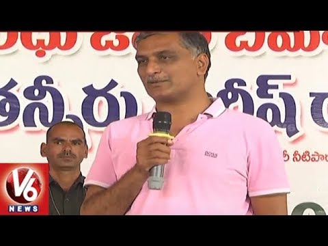 TRS Ministers Busy In District Tours | Participates In Development Works | V6 News