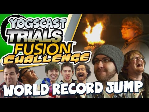 Trials Fusion Challenge Part 2 - World Record Jump video