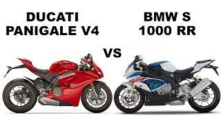 BMW S 1000 RR vs Ducati Panigale V4- Specs Compare
