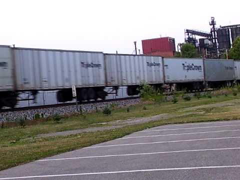 Norfolk Southern Roadrailer Freight, Wabash, Indiana