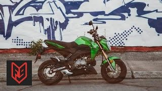 Kawasaki Z125 Pro Review at fortnine.ca