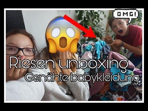 XXL Unboxing   Selbstgenähte Babykleidung    Reborn Baby Deutsch