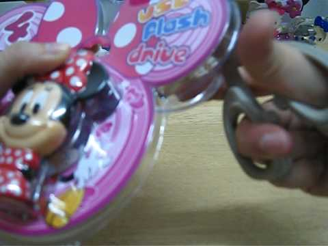 Unboxing 4GB Minnie usb flash drive
