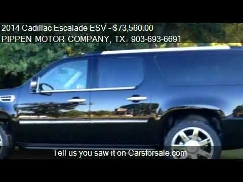 2014 Cadillac Escalade ESV Luxury - for sale in Carthage, TX