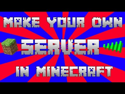 How To Make A Server In Minecraft 2016/2017(Works on Cracked) ;)