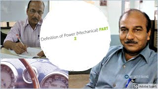 Automobile Vehicle | definition of power (mechanical) PART 2
