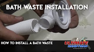 (8.42 MB) How to install a bath waste Mp3
