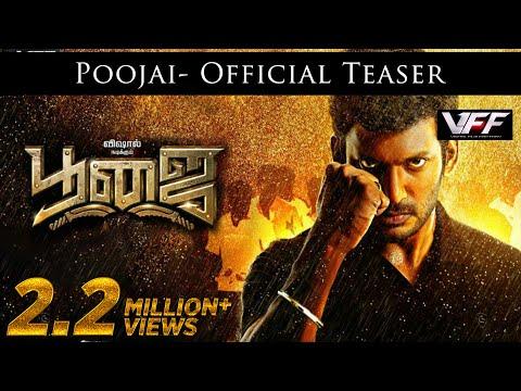 Poojai - Teaser | Vishal, Shruti Haasan | Hari | Yuvan