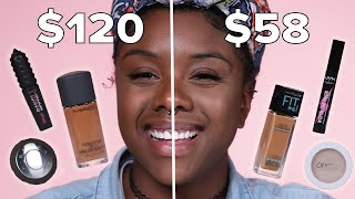 We Tried Black Beauty Makeup Dupes