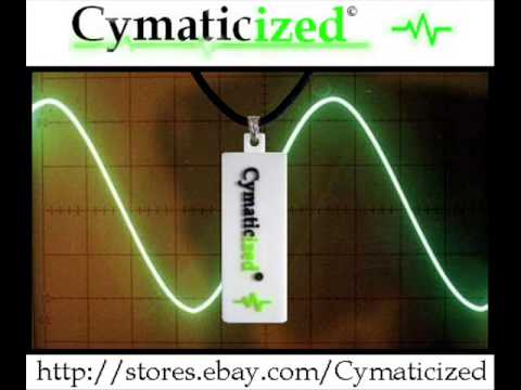The Cymaticized Reiki Orgone Pendant - SACRED FREQUENCIES