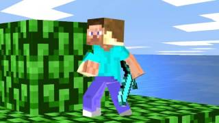 STEVE MINECRAFT EN SUPER SMASH BROS