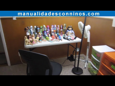 Pedido: Actualización de mi colección de muñecas - Monster high,barbie,American girl and liv dolls