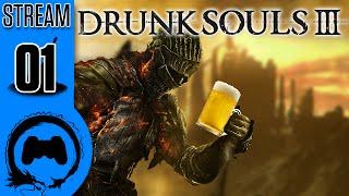 Dark Souls 3 - DRUNK SOULS III - 01 - TeamFourStar