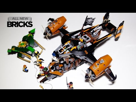 Lego Ninjago 70605 Misfortune's Keep Speed Build