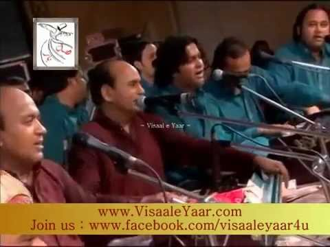 Punjabi Sufi Kalam( Allah Jane We Mahi)sher Ali Mehr Ali Qawwal In India.by Visaal video