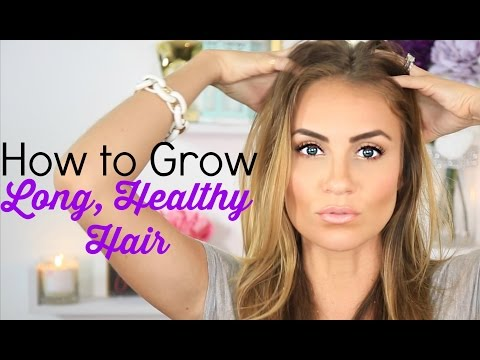 How To: Grow Long. Healthy Hair FAST! - Tips & Tricks   Beauty Hack
