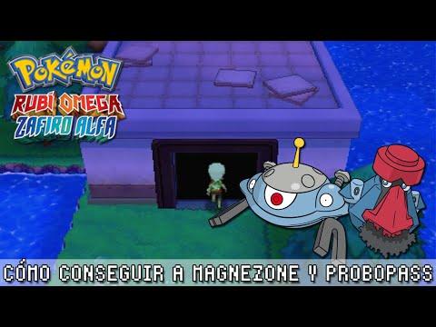 Cómo conseguir a Magnezone y Probopass ~ Pokémon Rubí Omega Zafiro Alfa