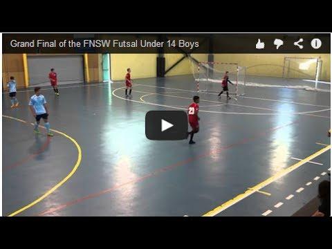 Grand Final of the FNSW Futsal Under 14 Boys