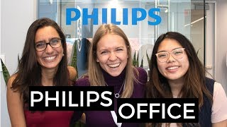 Philips office and the cool projects they're working on! | Blonde Vlogs