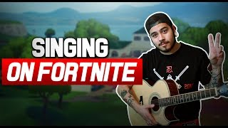 singing to GIRLS on FORTNITE!