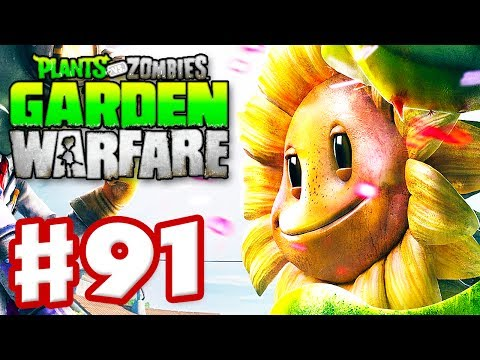 Plants vs. Zombies: Garden Warfare - Gameplay Walkthrough Part 91 - Dark Flower (Xbox One)