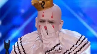 This Clown TURNED Simon ON! UNEXPECTED! | AGT Audition S12