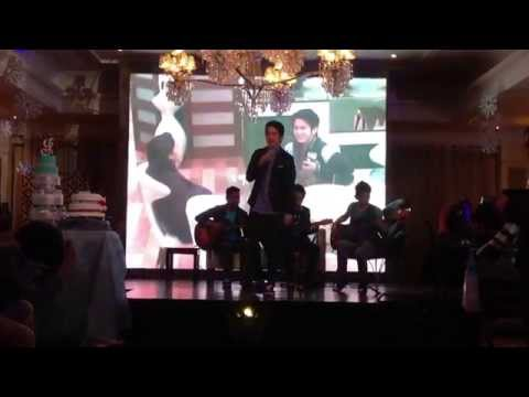 RUDE - Joshua Garcia singing  for Jane Oineza