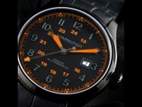Hamilton PVD Field Video Watch Review
