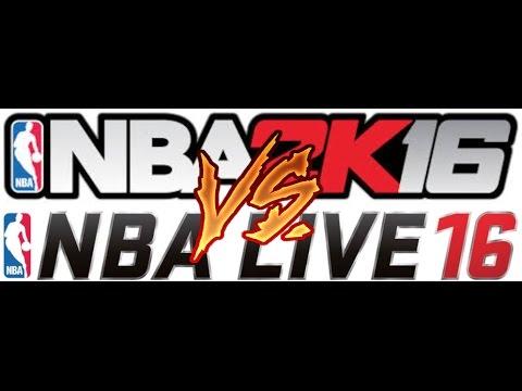 NBA 2K16 vs NBA Live 16: Shot Meter Gameplay Comparison by Sam Pham.