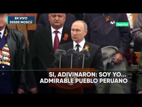 PUTIN DA LA BIENVENIDA A PERU