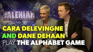 Cara Delevingne & Dane DeHaan Test Their Geography Skills | VALERIAN FULL INTERVIEW | The Hook
