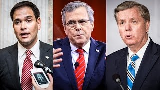 Rubio, Jeb, and Graham Insist — More Torture NOW