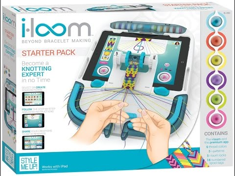 i-loom Unboxing and Review! ♥ Friendship Bracelets Made Simple