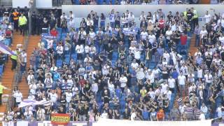 "Ultras Sur: ""José Mourinho"" + ""Real Madrid alé"". Real Madrid - Osasuna HD"