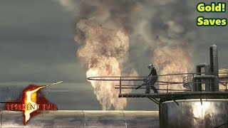 Resident Evil 5 #7 - Batalha na refinaria petrolífera