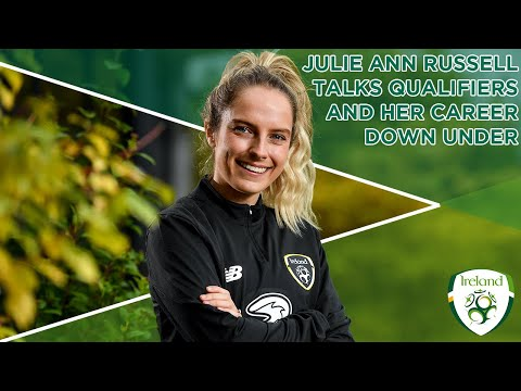 #IRLWNT INTERVIEW | Julie Ann Russell talks upcoming qualifiers & her career down under!