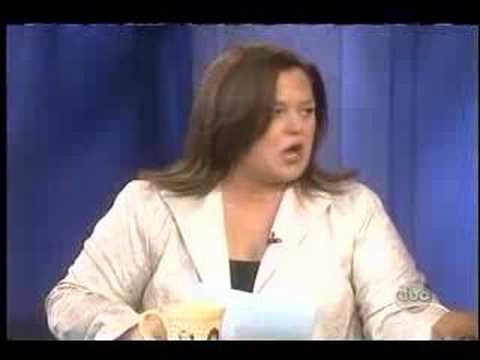 Rosie O'Donnell vs Elisabeth Hasselbeck on The View