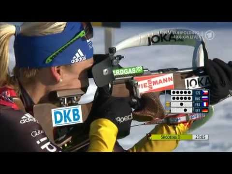 2012 Biathlon World Championships - Women's Relay