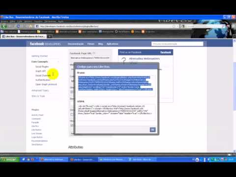 Como instalar o plugin social do Facebook no seu site ou blog.