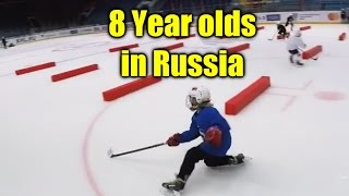 7-8 Year Olds Training in Russia with Alex Antropov