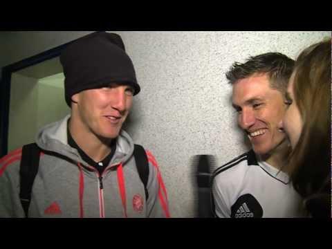 Bastian und Tobias Schweinsteiger im Exklusiv-Interview (13.01.2013)