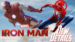 Iron Man VR: MAJOR NEW DETAILS!!! NO Spider-Man PS4 Connection, NOT On-Rails, & More!!!